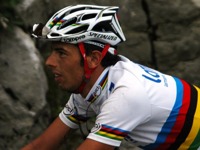 Alessandro Ballan sur le Tour de France 2009. Photo : Wikipédia