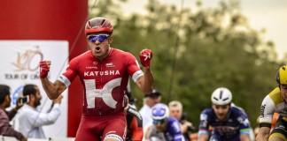 Alexander Kristoff a remporté la 3ème étape du Tour d'Oman 2016. Photo : Tour d'Oman