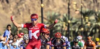 Alexander Kristoff, encore vainqueur sur le Tour d'Oman 2016. Photo : Tour d'Oman