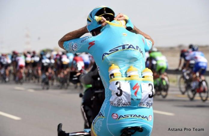TODAYCYCLING - Astana sur le Tour d'Oman 2015. Photo : Astana