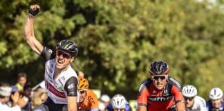 Edvald Boasson Hagen signe son deuxième succès sur les routes du Tour d'Oman 2016. Photo : Tour d'Oman