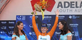 TODAYCYCLING Simon Gerrans est le tenant du titre de la premièr épreuve World Tour de la saison. Photo : Santos Tour Down Under