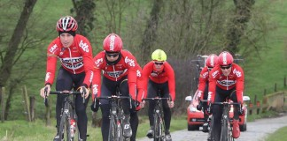 Lotto Soudal en reconnaissance. Photo : PhotoNews