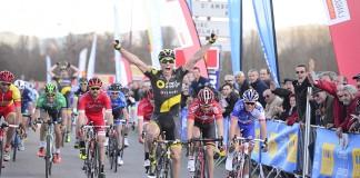 Sylvain Chavanel vainqueur sur l'Etoile de Besseges 2016. Photo : Direct Energie