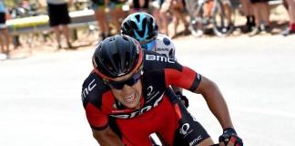 TODAYCYCLING - Richie Porte en route vers une troisième victoire consécutive à Willunga Hill lors du Tour Down Under 2016. Photo : Santos Tour Down Under