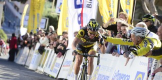 Thomas Voeckler renoue avec la victoire sur le Tour La Provence 2016. Photo : Direct Energie
