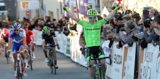 Tom-Jelte-Slagter remporté l'étape d'ouverture du Tour du Haut-Var 2016. Photo : Graham Watson/Cannondale