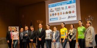 Les maillots distinctifs du Tour de la Communauté de Valence 2016. Photo : vueltacv