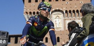 Alejandro Valverde. Photo : Movistar