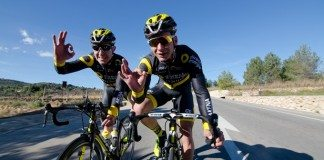 Bryan Coquard et Angelo Tulik. Photo : Direct Energie