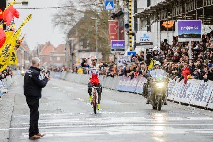 Qui succèdera à Luca Paolini vainqueur de Gand Wevelgem 2015 ? Photo : DigitalClickx/Gand-Wevelgem