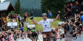 Pierre Latour sur la 4e étape du Tour de l'Ain 2015. Photo : James Startt/AG2R La Mondiale