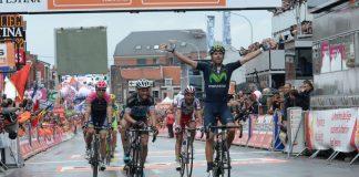 Alejandro Valverde remporte Liège-Bastogne-Liège 2015. Photo : ASO/B.Bade