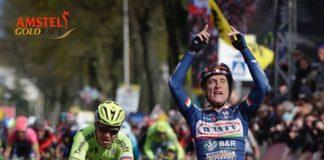 Enrico Gasparotto vainqueur de l'Amstel Gold Race 2016. Photo : Wanty-Groupe Gobert.