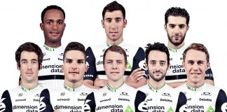 L'équipe Dimension Data pour l'Amstel gold Race. Photo : Dimension Data