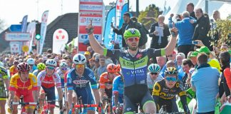 Daniel McLay vainqueur du Grand Prix de Denain 2016. Photo : Fortuneo-Vital Concept.