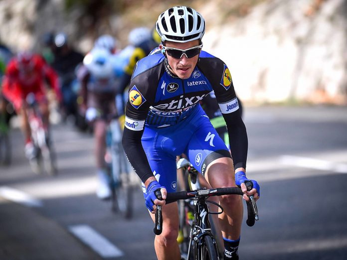 Julian Alaphilippe. Photo : TDWsport/Etixx-Quick Step