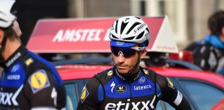 Julian Alaphilippe lors de l'Amstel Gold Race 2016. Photo : TDWsport/Etixx-Quick Step