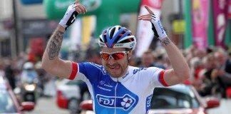 Marc Fournier victorieux sur la première étape duCircuit de La Sarthe 2016. Photo : FDJ