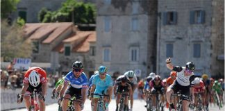 Mark Cavendish a remporté la deuxième étape du Tour de Croatie. Photo : Stiehl Photography.