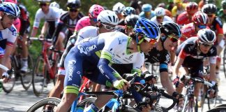 Michael Matthews sur la Fleche Wallonne 2015. Photo : Orica GreenEDGE.