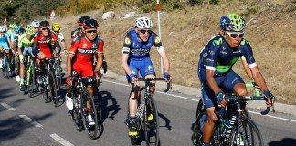 Nairo Quintana, grand favoris pour la victoire finale sur le Tour du Pays-basque. Photo : Movistar