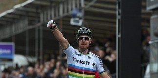 TODAYCYCLING - Peter Sagan, victorieux sur Gand-Wevelgem, sera l'un des favoris dimanche pour le Tour des Flandres. Photo : Bettini/Tinkoff