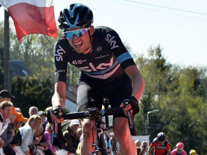 TODAYCYCLING - Wout Poels. Photo : Team Sky.