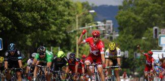 Alexander Kristoff impose sa pointe de vitesse sur la 7ème étape du Tour de Californie 2016. Photo : Chris Graythen/Getty Images/Amgen Tour of California