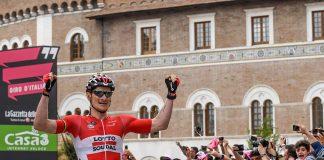 André Greipel en vainqueur sur la 5ème étape du Tour d'Italie 2016. Photo : Giro d'Italia