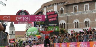 André Greipel en costaud sur la 5ème étape du Tour d'Italie 2016. Photo : Giro d'Italia