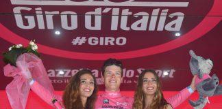 Bob Jungels (Quick-Step Floors) est le nouveau maillot rose du Giro 2017