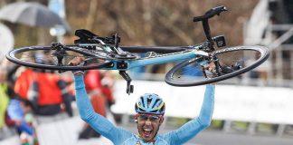 Diego Rosa lors de sa victoire sur la cinquième étape du Tour du Pays-Basque 2016. Photo : Astana.