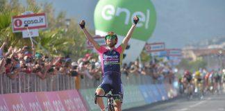 Diego Ulissi s'impose sur la quatrième étape du Tour d'Italie 2016. Photo : Giro d'Italia