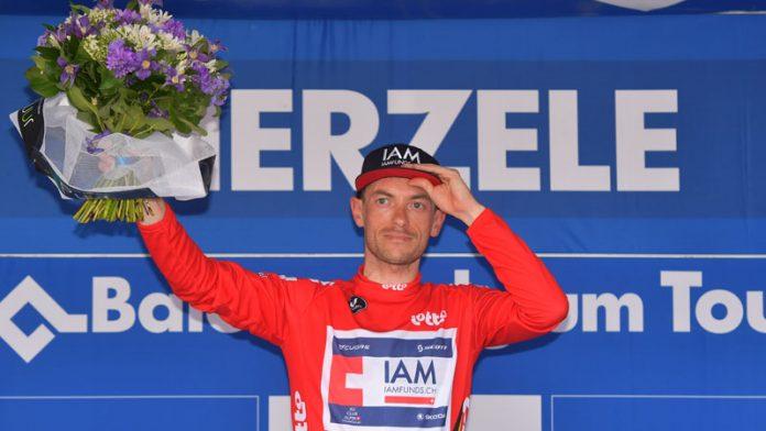 Dries Devenyns remporte le Tour de belgique. Photo : Baloise Belgium Tour