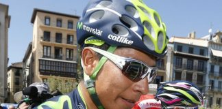 Nairo Quintana. Photo : Movistar.