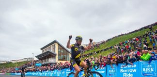 TODAYCYCLING - Thomas Voeckler remporte la dernière étape du Tour de Yorkshire 2016 ainsi que le général. Photo : SWPix/Le Tour de Yorkshire