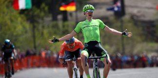 Toms Skujins remporte la 5ème étape du Tour de Californie 2016. Amgen Tour of California