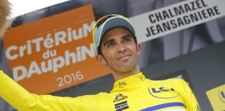 TODAYCYCLING - Critérium du Dauphine 2016. Photo : Tinkoff.
