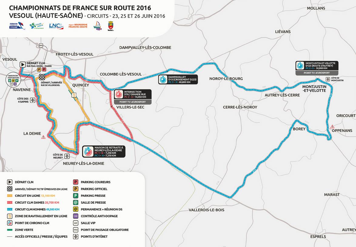 Ffc Bourgogne Calendrier 2020.Tout Sur Les Championnats De France De Cyclisme Sur Route 2016