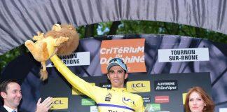 Malgré un ennui mécanique dans les dernières kilomètres, Alberto Contador conserve son maillot jaune. Photo : ASO/A.Broadway