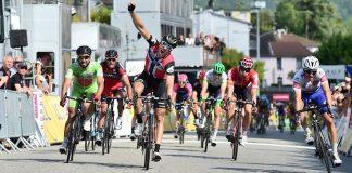 Edvald Boasson Hagen a remporté la quatrième étape du Critérium du Dauphiné 2016. Photo : Critérium du Dauphiné.