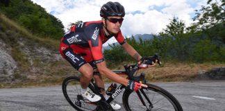 Damiano Caruso coureur de la BMC Racing Team en 2017. Photo : Tim de Waele / BMC Racing Team