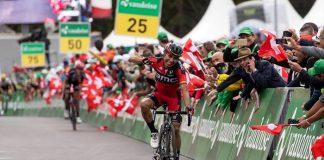 TODAYCYCLING - Darwin Atapuma tient enfin sa victoire avec la 5ème étape du Tour de Suisse 2016. Photo : @tds