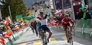 TODAYCYCLING - Jarlinson Pantano vainqueur de la 9e étape du Tour de Suisse 2016 et selectionné pour le Tour de France 2016. Photo : IAM Cycling.