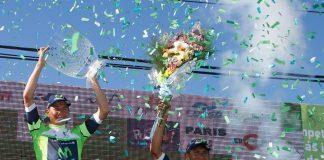 TODAYCYCLING - Nairo Quintana sur le Tour de San Luis 2016. Photo : Movistar.