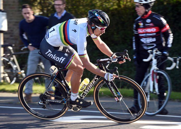 TODAYCYCLING - Peter Sagan. Photo : Tinkoff.