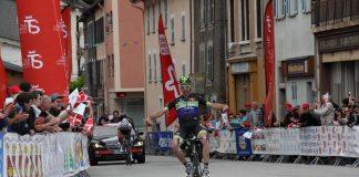 TODAYCYCLING - Pierre-Luc Périchon victorieux sur le Tour de Savoie. Photo : Fortuneo-Vital Concept