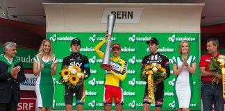 Le podium du Tour de Suisse 2015. Photo : Tour de Suisse