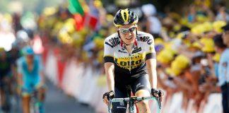 TODAYCYCLING - Wilco Keldemann sera l'un des espoirs de victoire d'étape pour son équipe. Photo : Team LottoNL Jumbo.